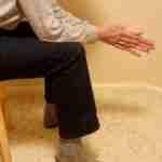 Elbows Walking on Knees